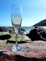 Gill's Champagne Prosecco Glass 'The Dot'
